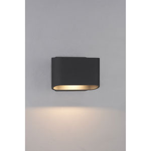 Eclipse Anthracite 7-Inch Wall Sconce