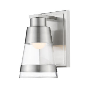 Ethos Brushed Nickel Five-Inch LED Bath Sconce