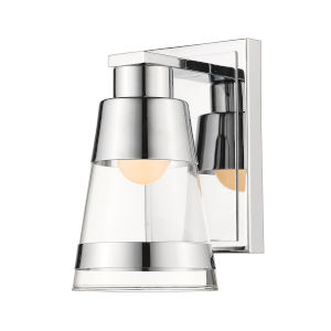 Ethos Chrome Five-Inch LED Bath Sconce