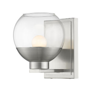 Osono Brushed Nickel LED Bath Sconce