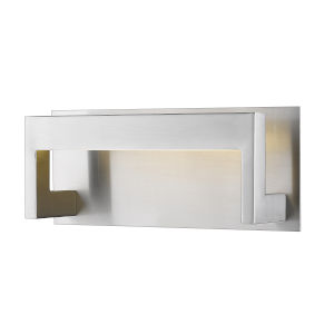 Linc Brushed Nickel LED Bath Vanity with Frosted Glass