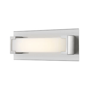 Elara Brushed Nickel 13-Inch LED Bath Vanity