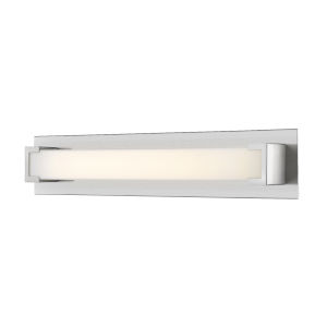 Elara Brushed Nickel 28-Inch LED Bath Vanity