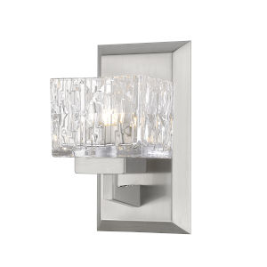 Rubicon Brushed Nickel LED Bath Sconce