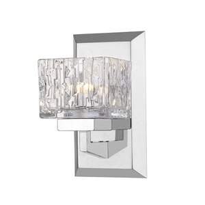 Rubicon Chrome One-Light Wall Sconce