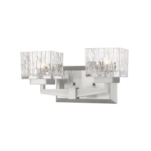 Rubicon Brushed Nickel Two-Light LED Bath Vanity