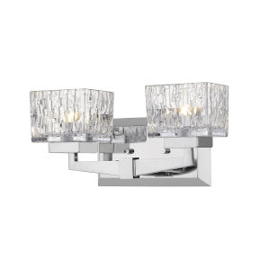 Rubicon Chrome Two-Light LED Bath Vanity