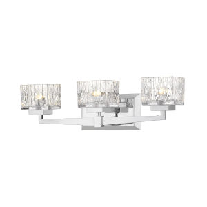 Rubicon Chrome Three-Light LED Bath Vanity