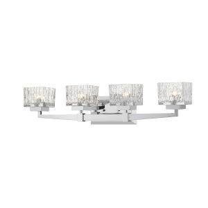 Rubicon Chrome Four-Light LED Bath Vanity