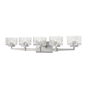Rubicon Brushed Nickel Five-Light LED Bath Vanity