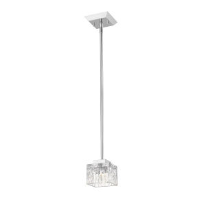 Rubicon Chrome One-Light LED Mini Pendant