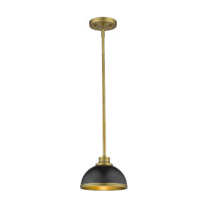 Citadel Copper Bronze One-Light Mini Pendant