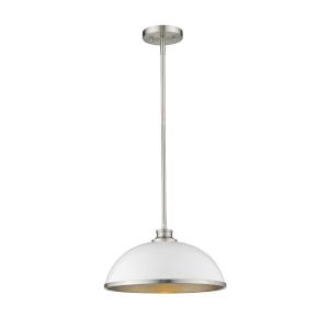 Citadel Brushed Nickel One-Light Pendant