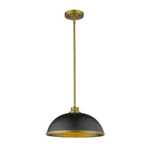Citadel Copper Bronze One-Light Pendant