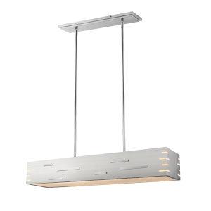 Loek Brushed Nickel LED Pendant