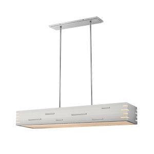 Loek Brushed Nickel Two-Light LED Pendant