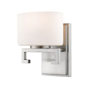 Privet Brushed Nickel LED Bath Sconce