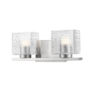 Barrett Brushed Nickel Two-Light LED Bath Vanity