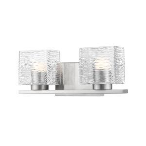 Barrett Brushed Nickel Two-Light LED Bath Vanity