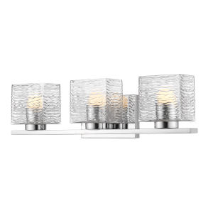 Barrett Chrome Three-Light LED Bath Vanity