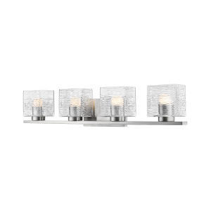 Barrett Brushed Nickel Four-Light LED Bath Vanity