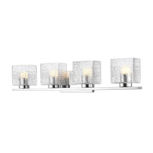 Barrett Chrome Four-Light LED Bath Vanity