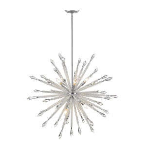 Soleia Chrome 10-Light Chandelier