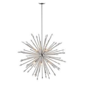 Soleia Chrome 12-Light Chandelier