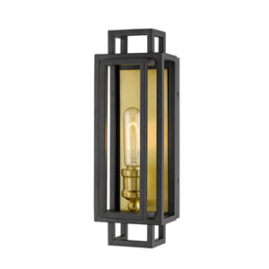 Titania Bronze and Old Brass One-Light Wall Sconce
