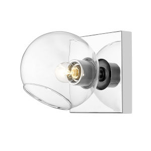 Marquee Chrome One-Light Bath Sconce