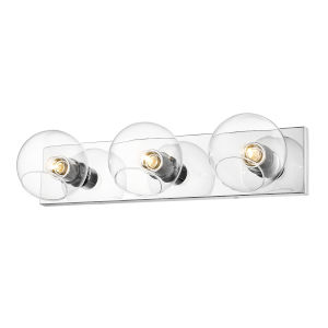 Marquee Chrome Three-Light Bath Vanity