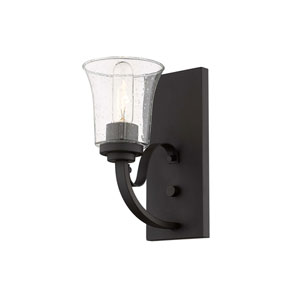 Halliwell  Bronze One-Light Wall Sconce