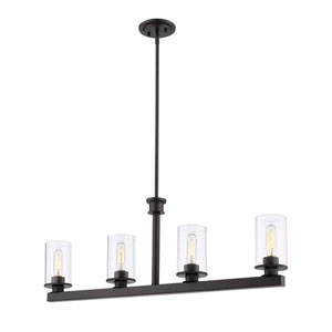 Savannah Bronze Four-Light Pendant