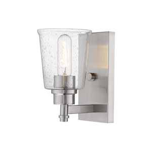 Bohin Brushed Nickel  One-Light Wall Sconce