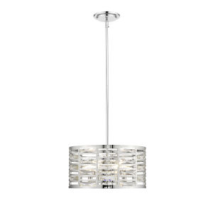 Cronise Chrome Four-Light Pendant