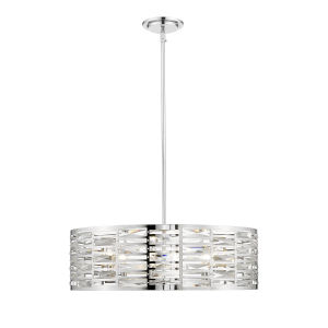 Cronise Chrome Six-Light Pendant