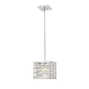 Cronise Chrome One-Light Mini Pendant