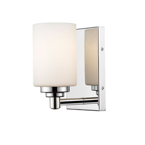 Soledad Chrome One-Light Wall Sconce
