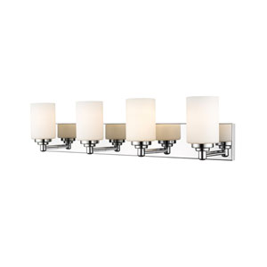Soledad Chrome Four-Light Bath Vanity