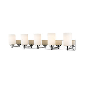 Soledad Chrome Five-Light Bath Vanity