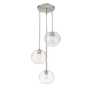 Harmony Brushed Nickel Three-Light Pendant