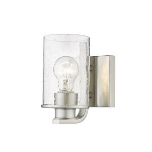 Beckett Brushed Nickel One-Light Wall Sconce