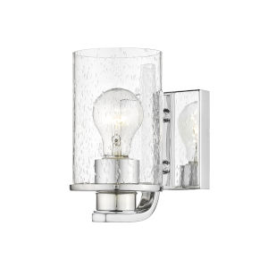 Beckett Chrome One-Light Wall Sconce