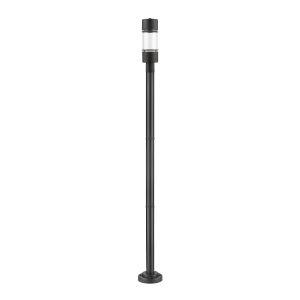Luminata Black LED Outdoor Post Mount
