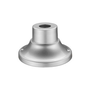 Silver Round Outdoor Pier Mount Bracket