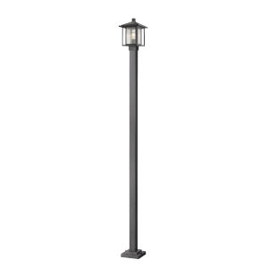Aspen Black 109-Inch One-Light Outdoor Post Mount
