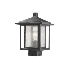 Aspen Black 13-Inch One-Light Outdoor Post Mount