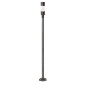 Lestat Deep Bronze One-Light LED Outdoor Post Mount