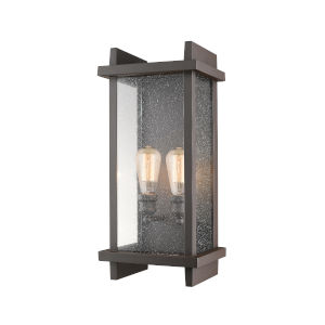 Fallow Deep Bronze Two-Light Outdoor Wall Sconce