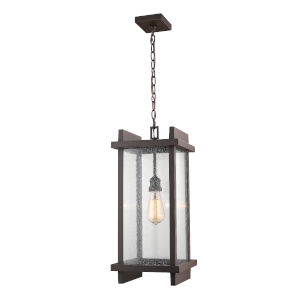 Fallow Deep Bronze One-Light Outdoor Pendant